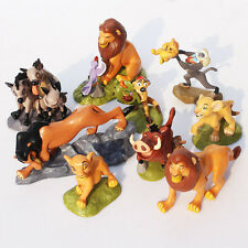 "Disney Lion King Set Of 9  2""- 4"" Birthday Cake Topper Figurines Toy Set"