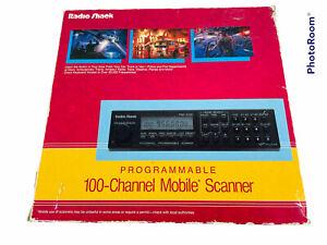 🔥 Radio Shack • 100 Channel Mobile Scanner • 20-148A • Pro-2026 • Original Box