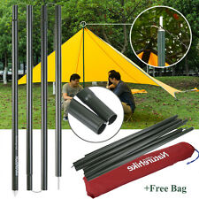 Naturehike 2x2M Aluminum Alloy Outdoor Tent Poles Rod Camping Travel Replacement
