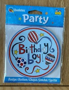 Qualatex Large Birthday Party Age Badges