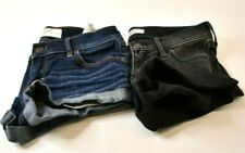 Hollister & Abercrombie & Fitch Women's Size 1/00 Shorts Lot of 2