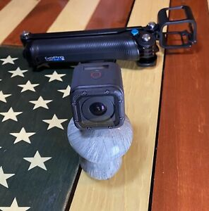 GoPro HERO 5 Session Camcorder Action 4K 10MP Ultra HD Sport Camera. With extras