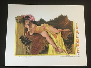 SALOME, DELILAH, PIRATE by Jim Silke, Signed and Numbered Prints