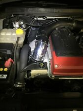 "FORD FG XR6 Turbo Intake Air Muffler Delete Pipe Black 102mm Alloy Worm Kit 4"""