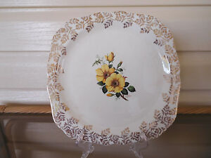 Lord Nelson Elija Cotton Serving Plate With Server England 1950s