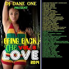 BRING BACK THE LOVE REGGAE LOVERS ROCK &  CULTURE MIX CD VOLUME 8