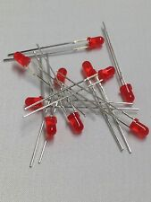 LED 3mm RED DIP 1.8V - 2.2V LOT OF 100pcs