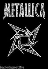 Metallica Ninja Star Hetfield Cloth Fabric Textile Poster Flag Wall Banner-New