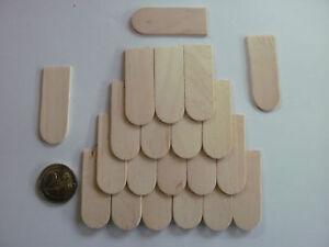 200  Dachschindeln  Holzschindeln Schindeln 18x50 mm Holzschindel Schindel