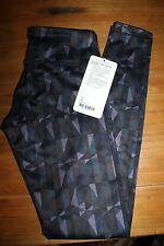 NEW Lululemon Wunder Under Pant 3D stained glass love nightfall black tights