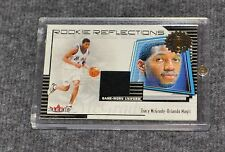 Tracy McGrady Game Worn Jersey Card ROOKIE REFLECTIONS Rare 2001 Fleer Authority