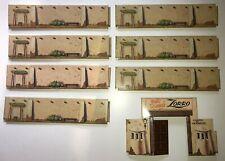 Vintage Marx 1950-60s Zorro Play Set Hacienda Tin Gate, Door & Walls x 7 Disney