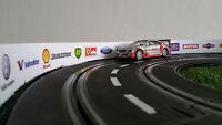 Slot cars decoration Side barriers Rails  Bande PVC+Sponsored Stickers *200x6cm