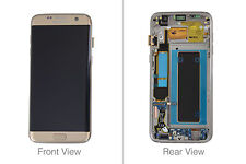 Genuine Samsung Galaxy S7 Edge G935 Gold LCD Screen & Digitizer Complete - GH97-