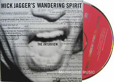 ROLLING STONES CD JAGGER Wandering Spirit  INTERVIEW PROMO Only New