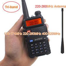 New Baofeng UV-5R Tri-band 136-174MHz 220-260MHz 400-520MHz Two way radio BF-R3