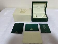ROLEX Watch Box Case Wave 30.00.02 Small Box Case Booklet 2005 GENUINE 83543