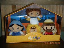 2015 HALLMARK ITTY BITTYS  -  MARY, JOSEPH, BABY JESUS & ANGEL ~ NATIVITY SET