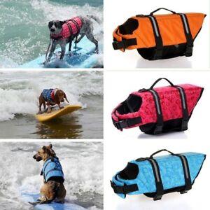 Safe Safety Vests Life Preservers Jacket Reflective Boat Saver Pet Dog Life Sea