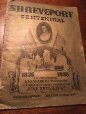 Shreveport, Louisiana, Centennial, Genealogy, Original Copy