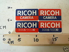 STICKER,DECAL RICOH KR5 AND KR10 CAMERA 4 STICKERS