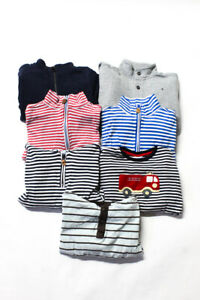 Janie and Jack Bella Bliss Childrens Boys Sweaters Multi Colored Size 7 6 5 Lot