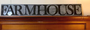 LARGE FARMHOUSE SIGN 51 Inches Length X 8 Inches Height