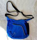 Overland+Equipment+Blue+Crossbody+Messenger+Bag+Zip+Pockets+Adjustable+Strap+EUC