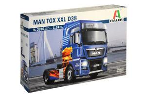 Italeri 3916 1/24 Scale Truck Model Kit MAN TGX 18.560 XXL D38 100Years