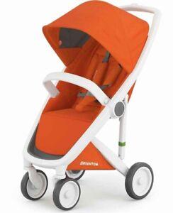 Greentom Classic Stroller Orange & White Foldable Lightweight New