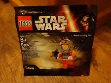 2016 LEGO STAR WARS--REBEL A WING PILOT FIGURE (NEW)