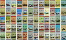 160 x GB britannique voiture timbres (Auto 100/Leaders of the world UK Collection)