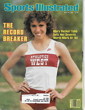 SPORTS ILLUSTRATED-MARY DECKER TABB FROM JULY  26, 1982