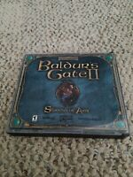 Baldur's Gate 2 II: Shadows of Amn Collector's Edition (PC, 2000) free shipping!