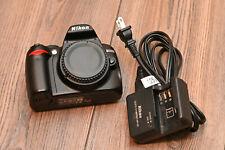 Nikon D D3000 10.2MP Digital SLR Camera - Black (Body Only) 6,658 SHUTTER COUNT