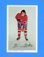 1972-73 STEVE SHUTT  MONTREAL CANADIENS PRO STAR POSTCARD NM-MT