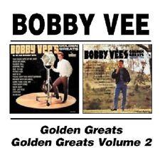 Bobby Vee Golden Greats/Golden Greats Volume 2 2on1 CD NEW SEALED Rubber Ball+