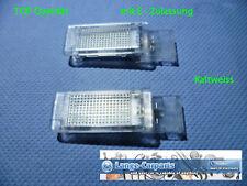 1 LED SMD Einstiegs Fußraum Innenraum Kofferraum Beleuchtung VW Caddy EOS Jetta