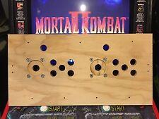 Mortal Kombat 2 Arcade Wood Control Panel MK2 NOS CPO Midway