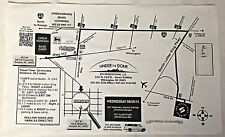 UNDER THE DOME tv show set used LOCATION MAP Burgaw/Wilmington, NC~ Ollie's Farm