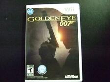Replacement Case (NO GAME) GOLDEN EYE 007  NINTENDO WII