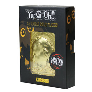 Yu-Gi-Oh! | Limited Edition | 24K Gold Plated Collectable | Kuriboh