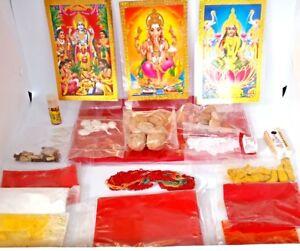 Pooja Hamper Box - 3 in 1 / hindu / Religiuos / Wedding / Decoration