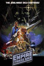 Star Wars EMPIRE STRIKES BACK Movie Poster 24x32 inch Jedi Vader 01