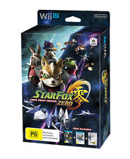 Star Fox Zero First Print Edition for Nintendo Wii U NEW IN BOX