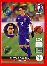 EURO FRANCE 2016 -Adrenalyn Panini-Card n. 150 - KALINIC HRVATSKA - One to Watch