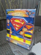 UFFICIALE Superman Costume 3-D Action DC Comics Rubies Nuovo