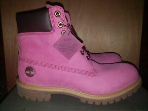 Timberland 6 Inch Premium Pink Rose Susan Komen Men's Size 11 DS BNIB