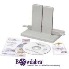 Bowdabra® Designer Large Bow Maker Kit BOW1003 Craft Tool with Starter Supplies