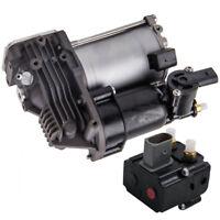 For BMW X5 (E70) 2007-2013 OEM Quality Air Suspension Compressor Pump w/ relay